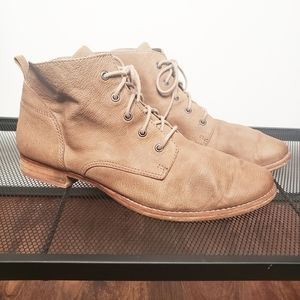 Sam Edleman Mare Lace Up Booties Leather